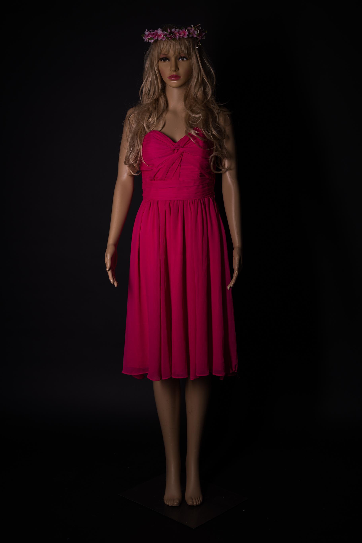 Pinkes Kleid kurz